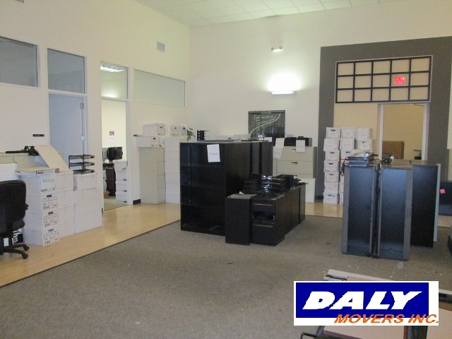 Professionally packed commercial office